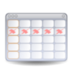 evolution-calendar icon