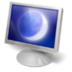 desktop, eclipse, monitor, screen icon