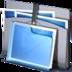 folder, folders, strap icon