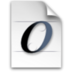 font, open icon
