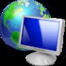 browser, computer, earth, internet, monitor, pc, screen, web icon