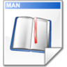 book, document, man icon