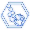 b, hex icon