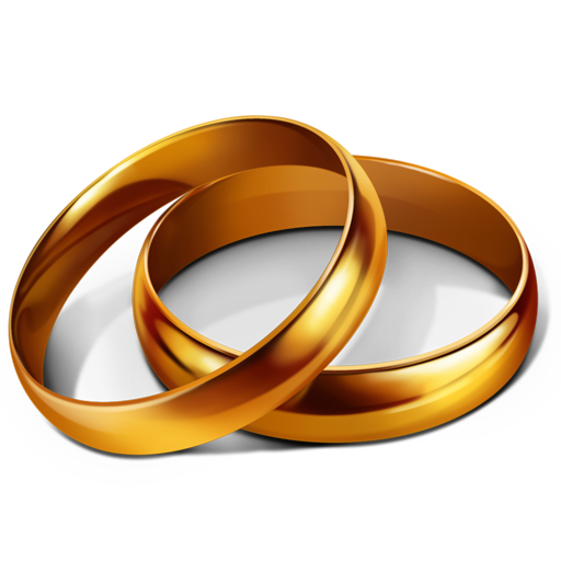 Marriage Rings Wedding icon Icon Search Engine
