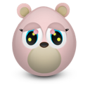 bear, girly icon