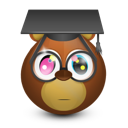 bear, graduating icon