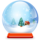 ball, christmas, crystal icon