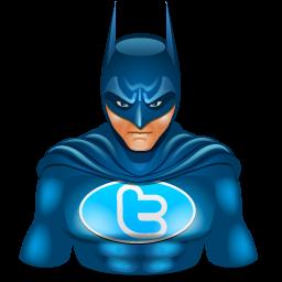 batman, super hero, twitter, wonder woman icon