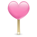 heart, icecream icon
