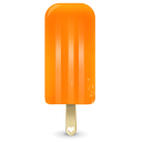 icecream, orange icon