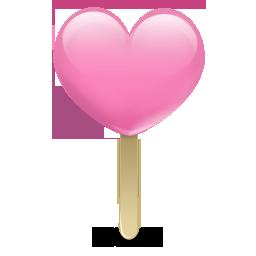 heart, icecream icon