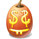 easymoney, halloween, jack o lantern, pumpkin icon