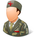 armynurse, male icon
