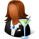 bartender, female