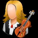 female, musician