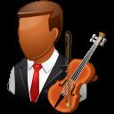 dark, male, musician