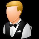 male, waiter