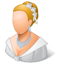 bride, wedding icon