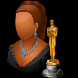 actor, dark, female icon