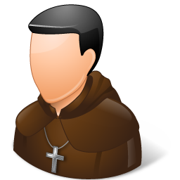 catholic monk icon
