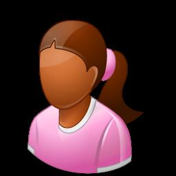 child, female icon