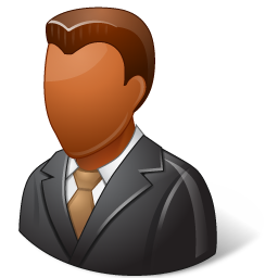 client, dark, male icon