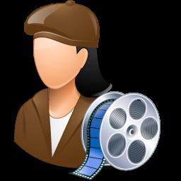 director, female, filmmaker icon