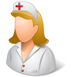 male, nurse icon