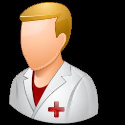male, nurse icon