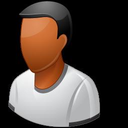 dark, male, person, undefined icon