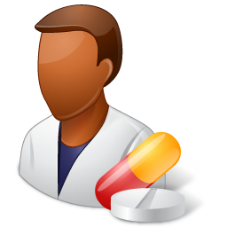 Dark, male, pharmacist icon - Free download on Iconfinder