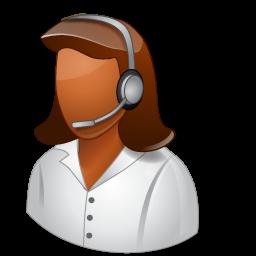 female, technicalsupportrepresentative icon