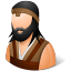 barbarian, male icon