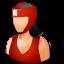 boxer, female icon