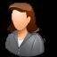client, female icon