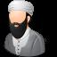 male, muslim icon