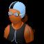 female, swimmer icon