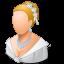 bride, wedding icon