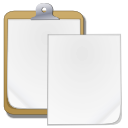 clipboard, paste icon