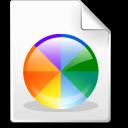 Colors, color doc, color wheel icon - Free download
