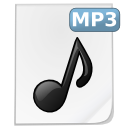 file, mp3, music icon