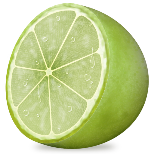 Lime Png Fruit, lemon, lime icon. png