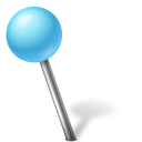 azure, ball, base, creative, freedom, left, map, marker, shimmer icon