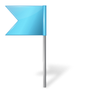 azure, base, flag, left, map, marker icon