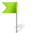 base, chartreuse, flag, left, map, marker icon