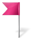 base, creative, flag, left, map, marker, pink icon