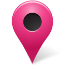 base, map, marker, outside, pink icon
