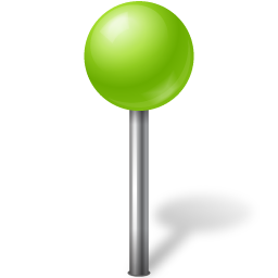 ball, base, chartreuse, map, marker, ose icon