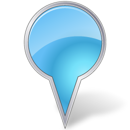 azure, base, bubble, map, marker icon