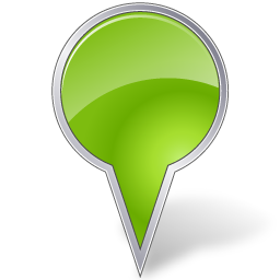 base, bubble, chartreuse, map, marker icon